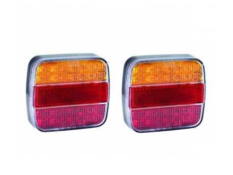 Led Lampen Aanhangwagen : Aanhangwagen achterlichten led volts eu