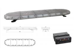 ZWAAILICHT MET LED TRAFIC 120 CM 12V