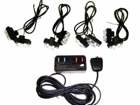 PROLED FLASH CLIPS 8X2 LED