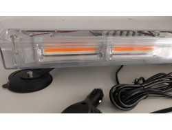 GYROPHARE MAGNÉTIQUE COB LED 140 WATT 12V/24V