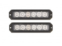 2 LED FLASH 18 WATT 18 FONCTIONS