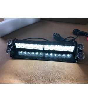 LED FLASH VOORRUIT 12 LED 36 WATT